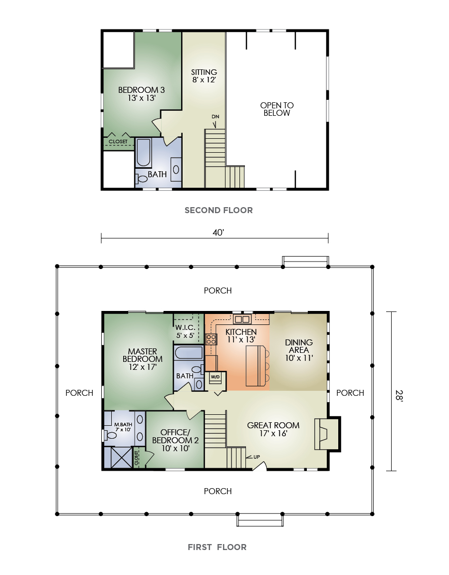 creekstone floorplan