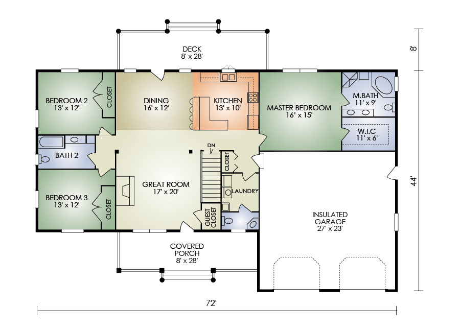 fairhaven floorplan