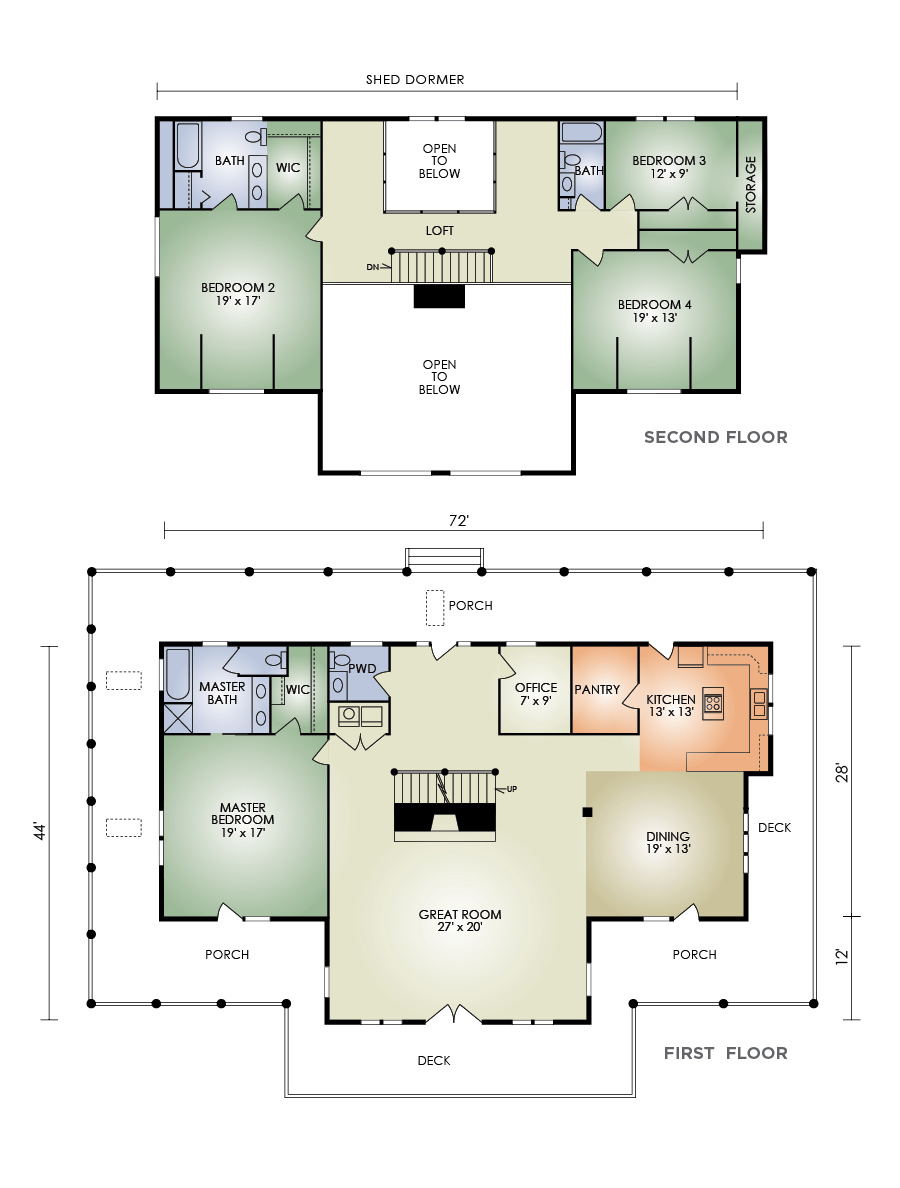 heritage log home from hochstetler milling heritage floorplan general navigation home floor plans