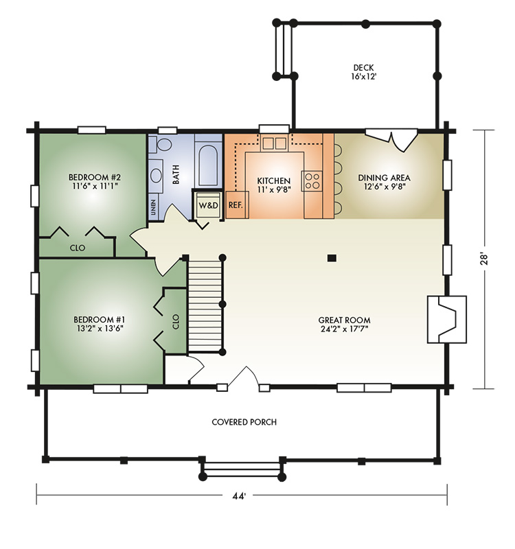 honey creek floorplan