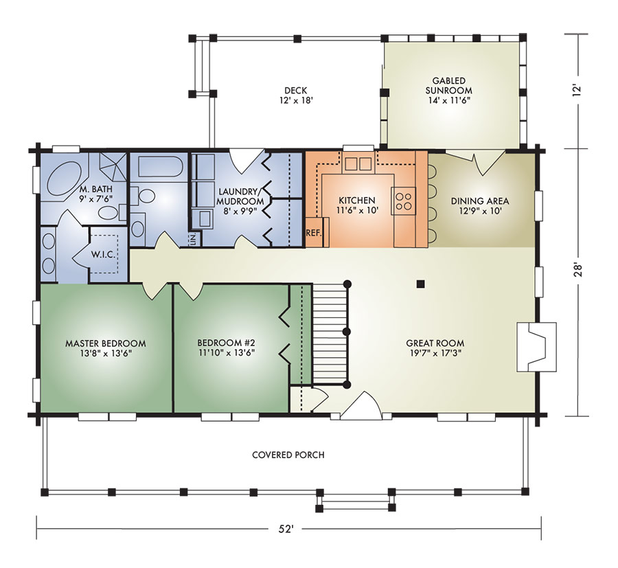 honey creek ii floorplan