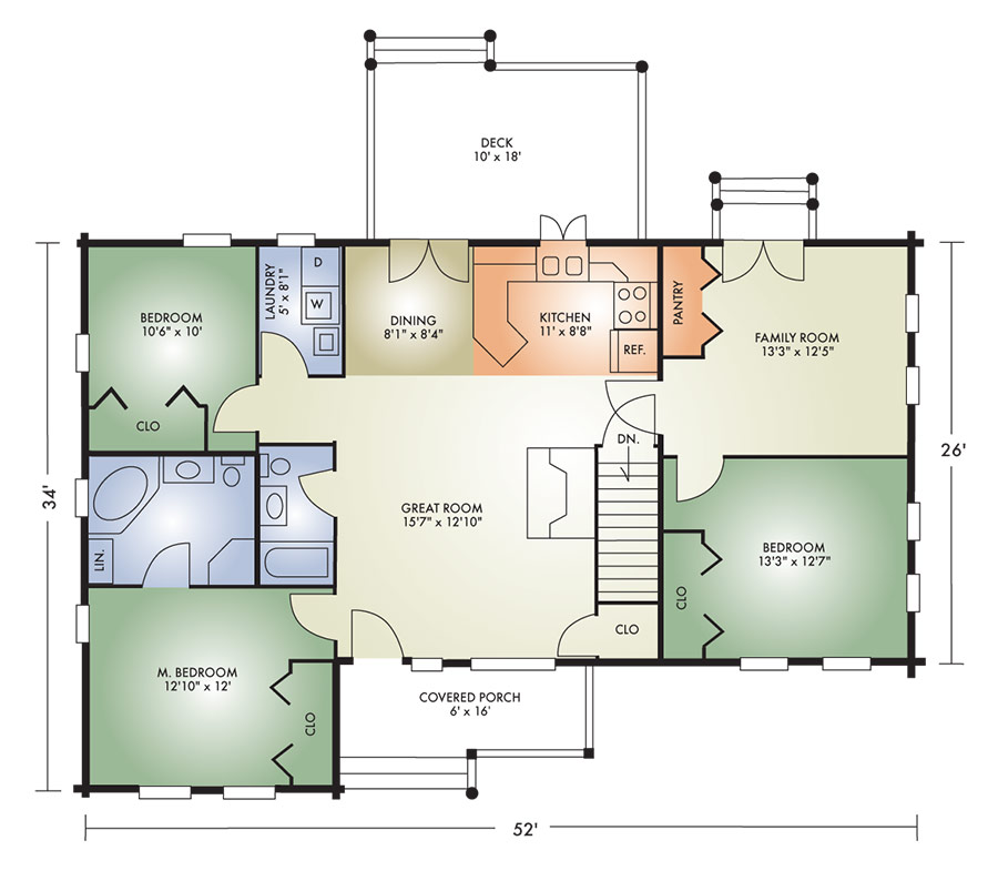 johnsville ii floorplan