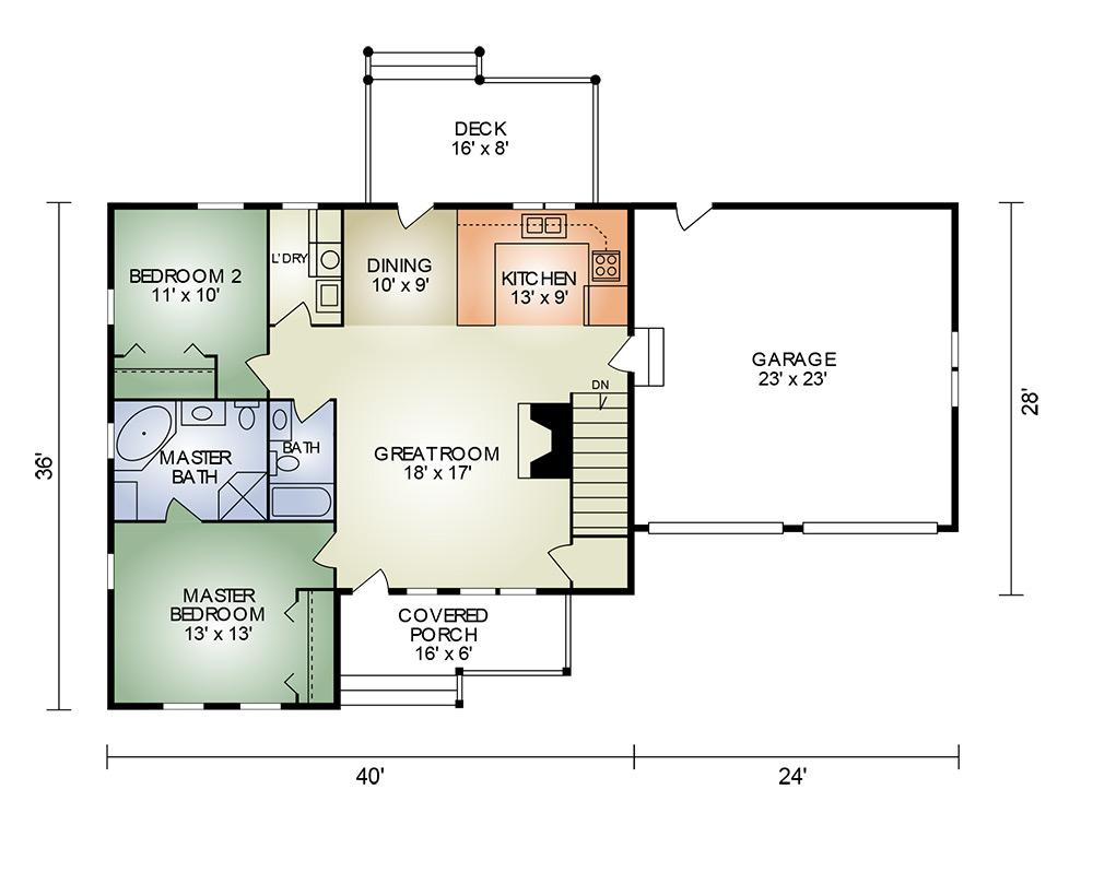 johnsville ii floorplan