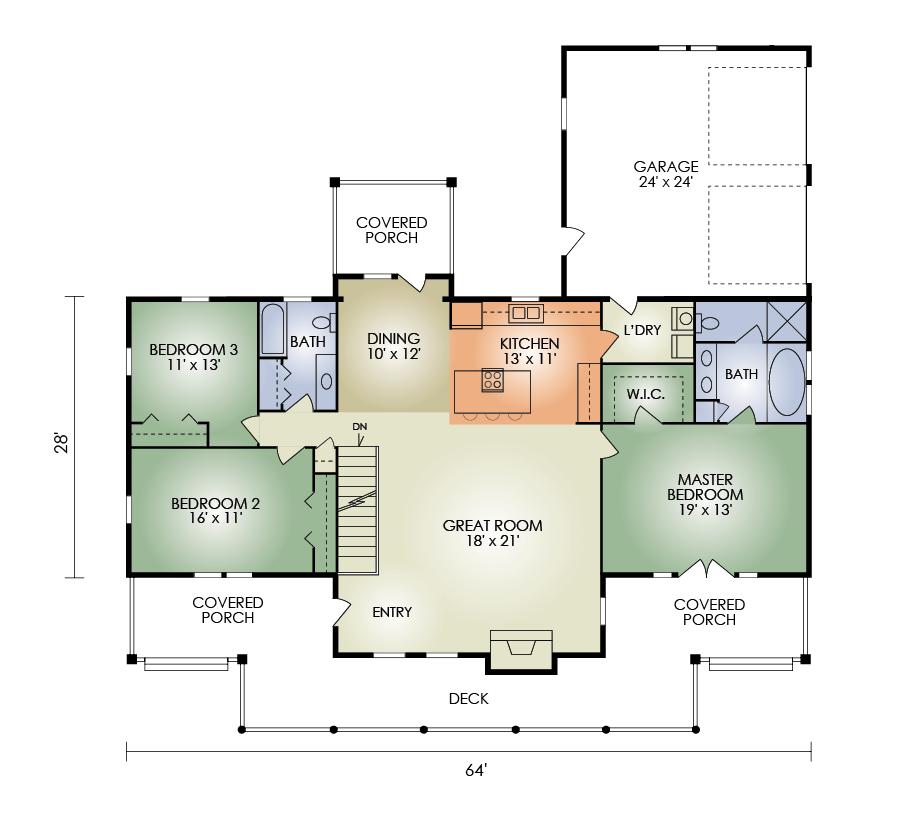 Lakewood floorplan