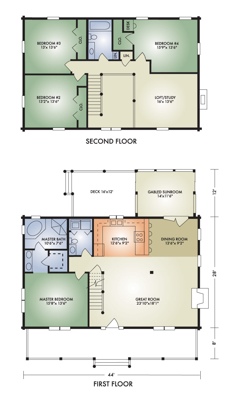newbury floorplan