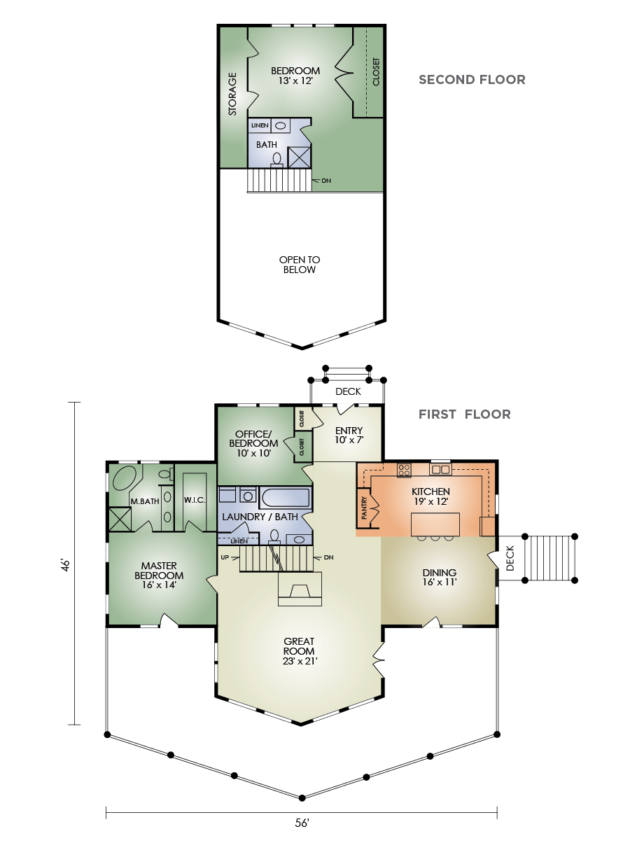pleasant hill floorplan