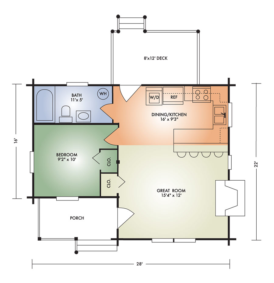 retreat floorplan