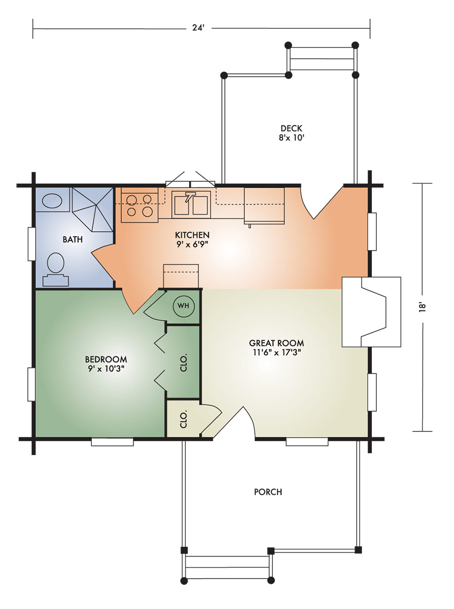vacationer floorplan
