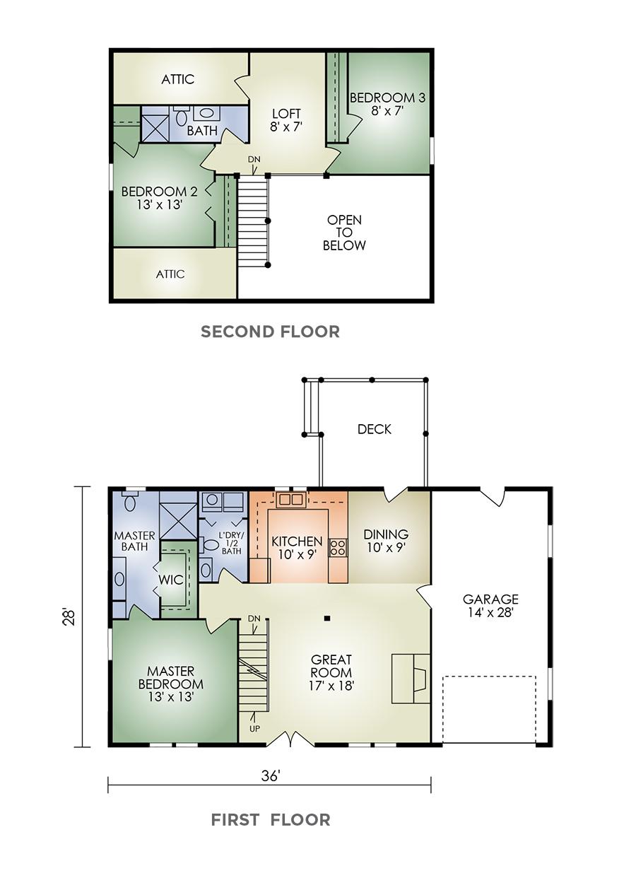 Vermont floorplan