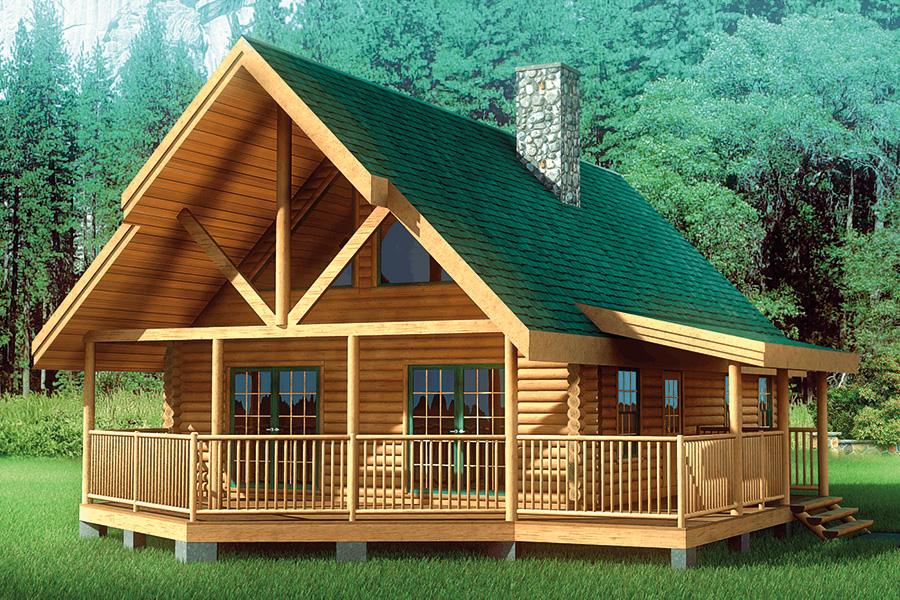Chalet Log Home Floor Plan | Hochstetler Log Homes on mountain luxury home plans, mountain duplex plans, mountain log house, mountain modular home plans, mountain craftsman plans, lake front home plans, mountain log home designs, mountainside home plans, mountain garage plans, mountain cabin home plans, mountain style homes, mountain side home, mountain vacation home plans, simple square home plans, a-frame style home plans, mountain chalet plans,