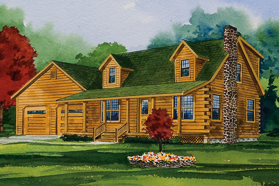 manchester log home from hochstetler milling manchester floorplan general navigation home floor plans