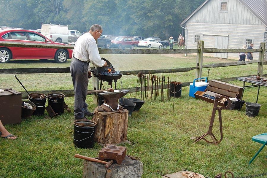 Log Cabin Days Blacksmith