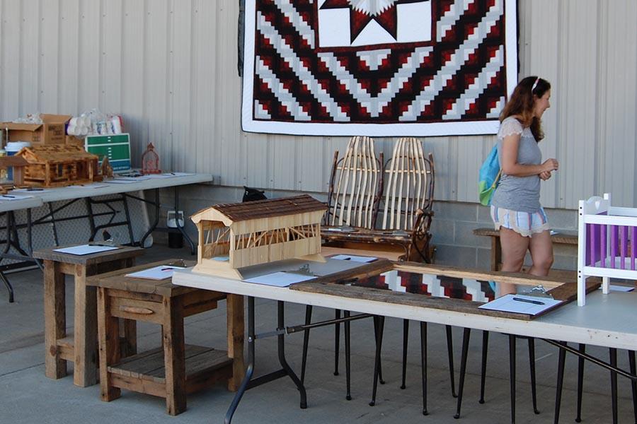 Log Cabin Days Crafts