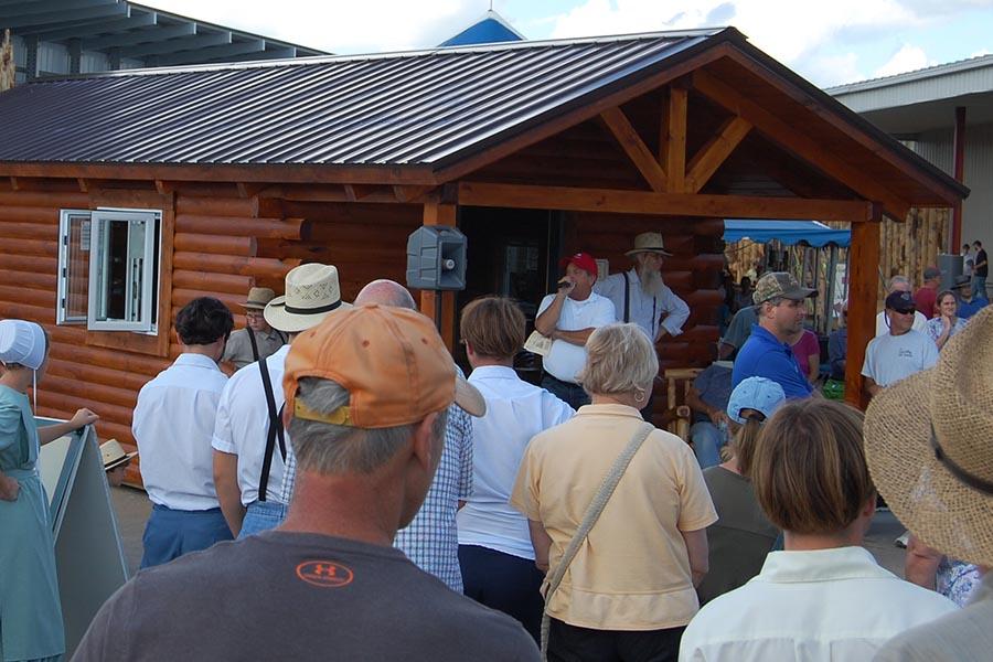 Log Cabin Days Give Aways