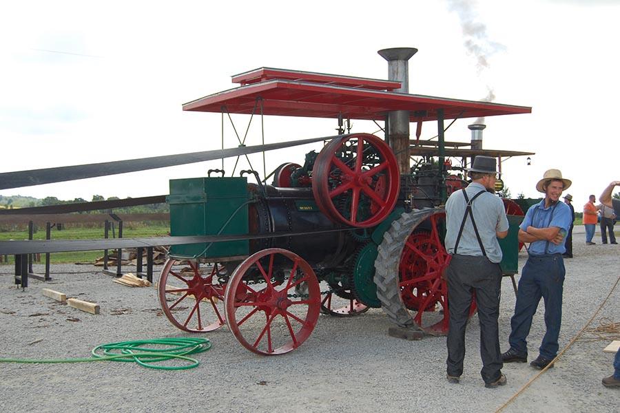 Log Cabin Days Steam Engine