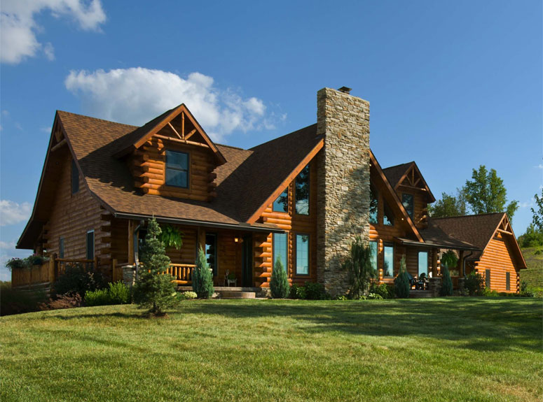 Log Homes Amp Cabins Log Home Floor Plans Kits Amp Packages