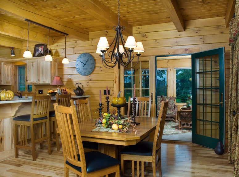 Log Home Exterior Gallery