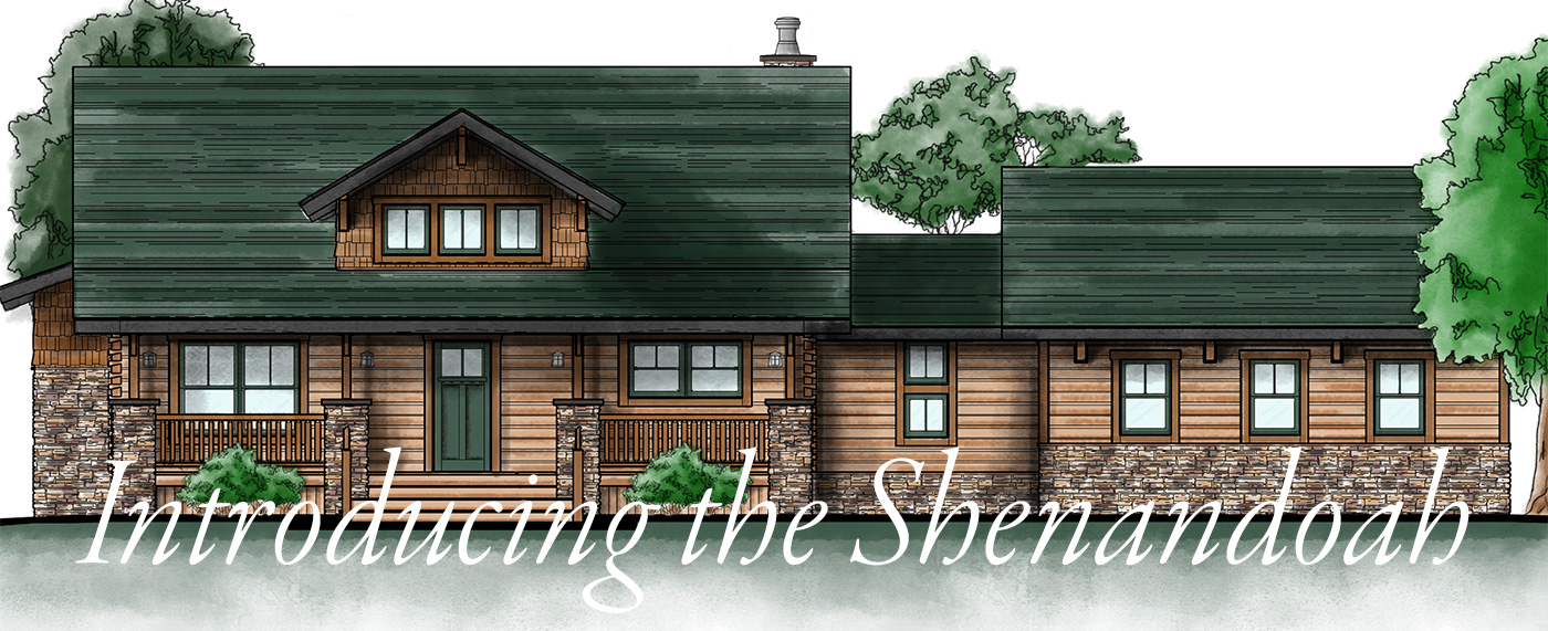 introducing the shenandoah log home by hochstetler log homes