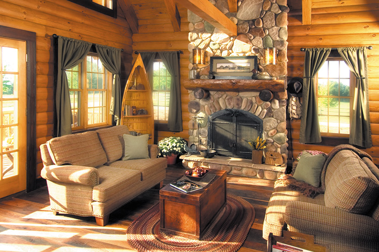 learn more about log homes