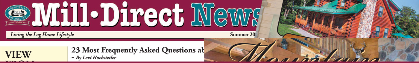 newsletter archive hochstetler log homes