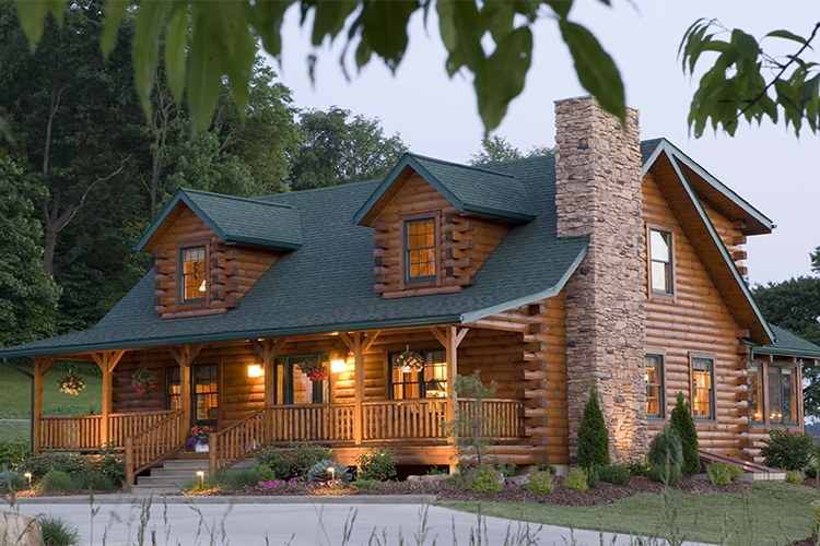 Marvelous Log Homes Cabins Log Home Floor Plans Kits Packages Interior Design Ideas Philsoteloinfo