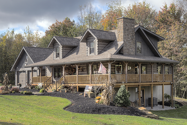 advantages of log homes by Levi Hochstetler Hochstetler Log Homes