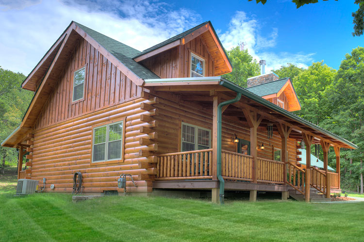 reducing log home maintenance part 2